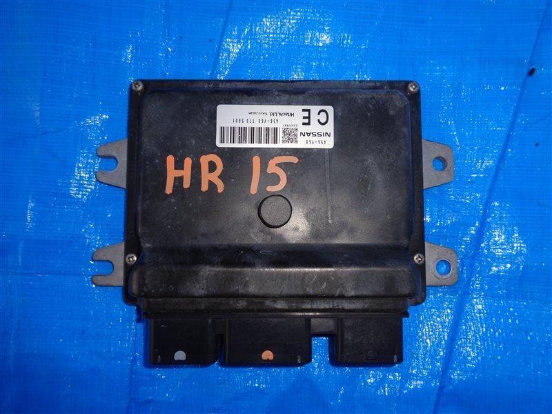 Блок efi Nissan Cube YZ11 HR15DE (б/у)
