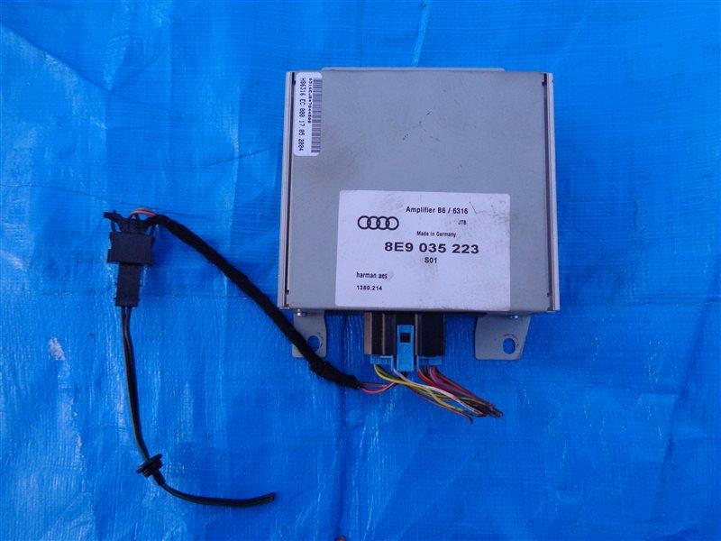Усилитель звука Audi A4 8E2 (б/у)