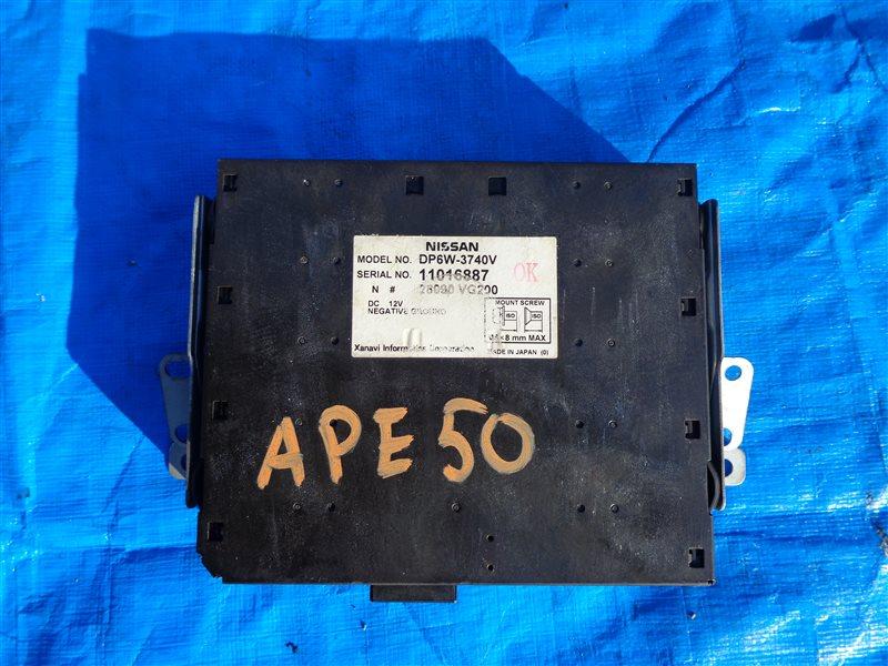 Монитор Nissan Elgrand APE50 VQ35 (б/у)