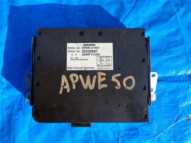 Монитор Nissan Elgrand APWE50 VQ35DE (б/у)
