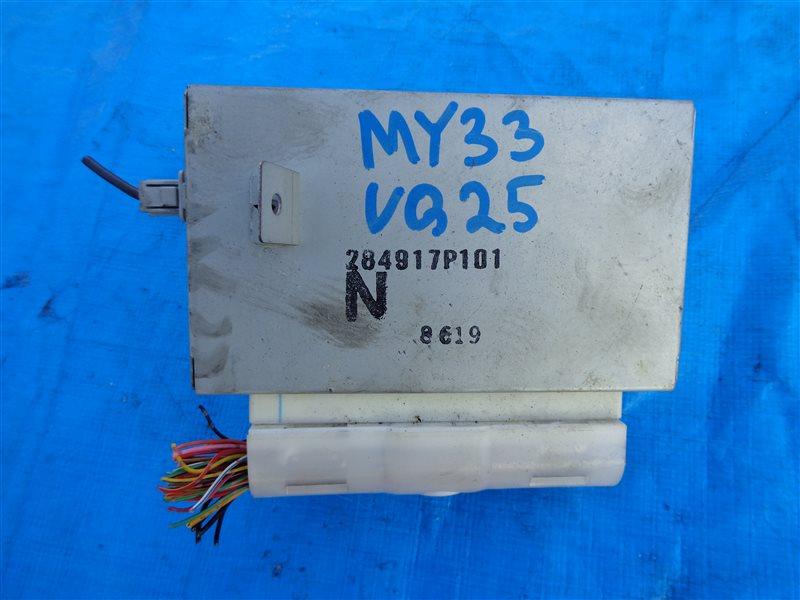 Блок управления климат-контролем Nissan Cedric MY33 VQ25 (б/у)