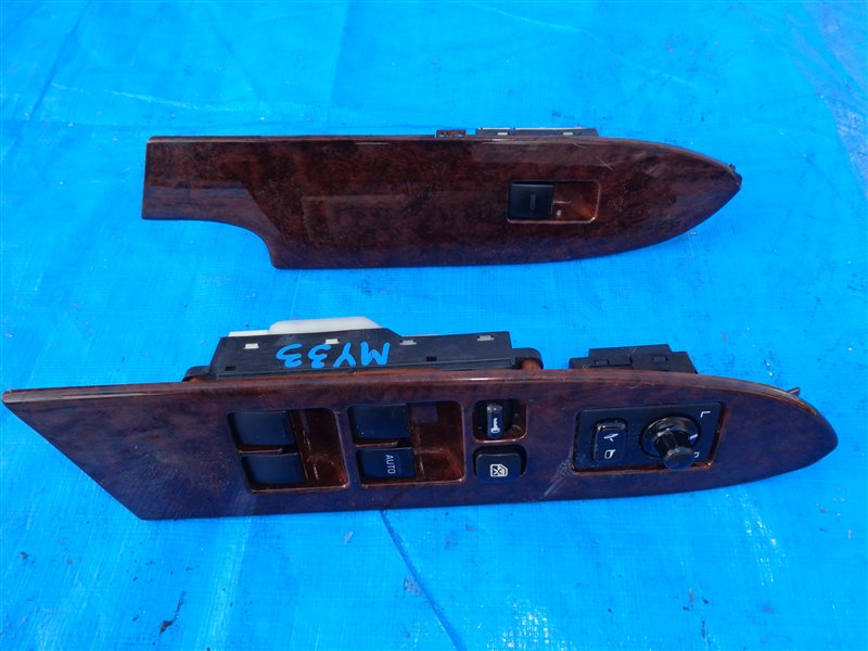 Блок управления стеклоподъемниками Nissan Cedric MY33 VQ25 передний (б/у)