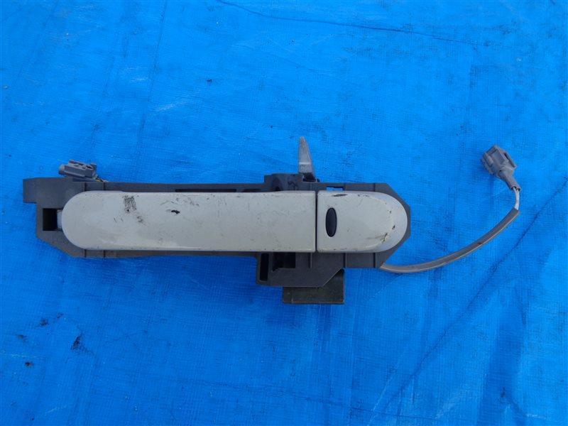 Ручка двери внешняя Nissan Cube YGZ11 HR15DE передняя (б/у)