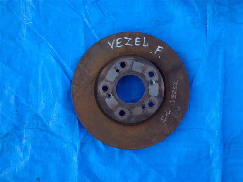Тормозной диск Honda Vezel RU1 передний левый (б/у)