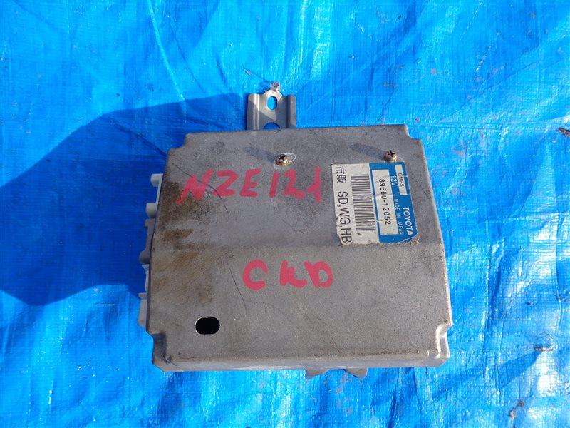 Блок управления рулевой рейкой Toyota Runx NZE121 1NZ-FE (б/у)
