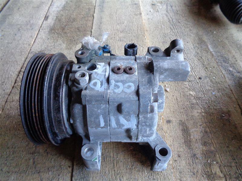 Компрессор кондиционера Nissan Cube K11 CG10DE (б/у)