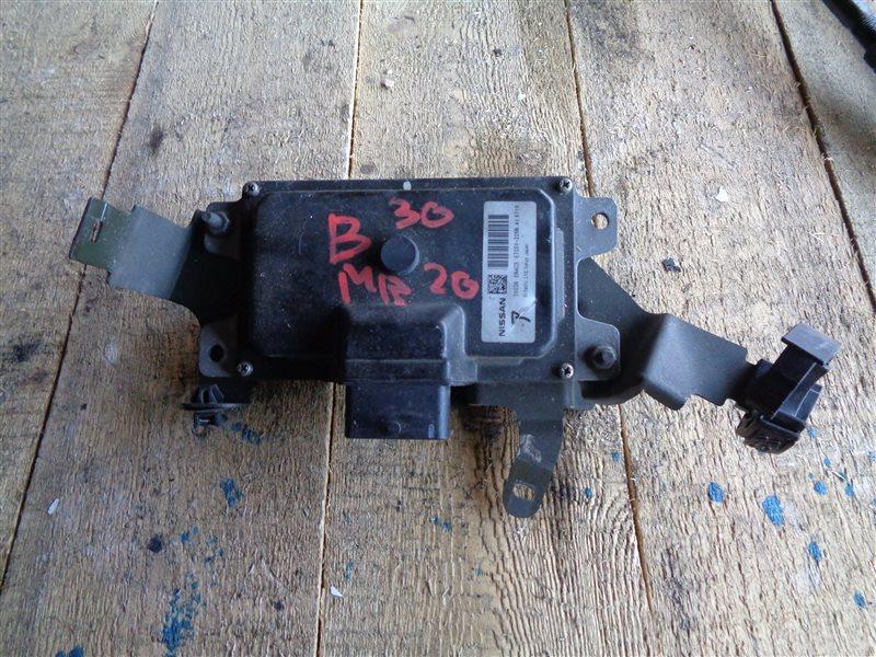 Блок переключения кпп Nissan Lafesta B30 MR20DE (б/у)