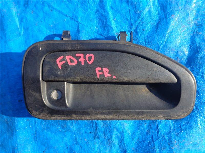 Ручка двери внешняя Mitsubishi Canter FD70 передняя правая (б/у)