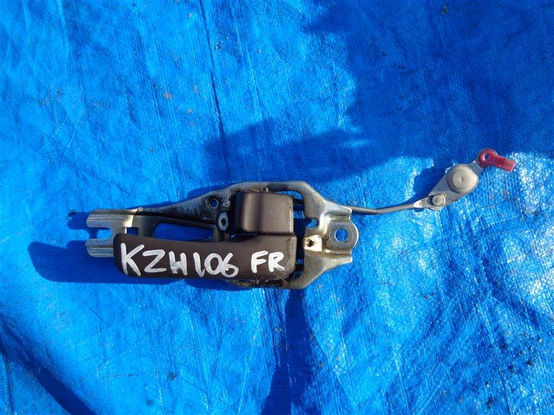 Ручка двери внутренняя Toyota Hiace KZH106 1KZ передняя правая (б/у)