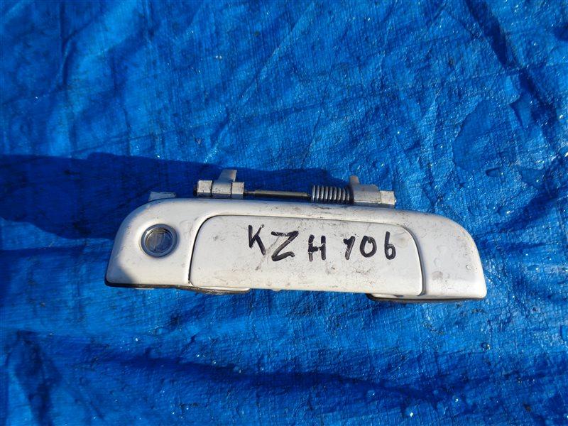 Ручка двери внешняя Toyota Hiace KZH106 1KZ передняя правая (б/у)