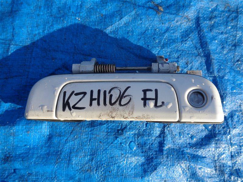 Ручка двери внешняя Toyota Hiace KZH106 1KZ передняя левая (б/у)