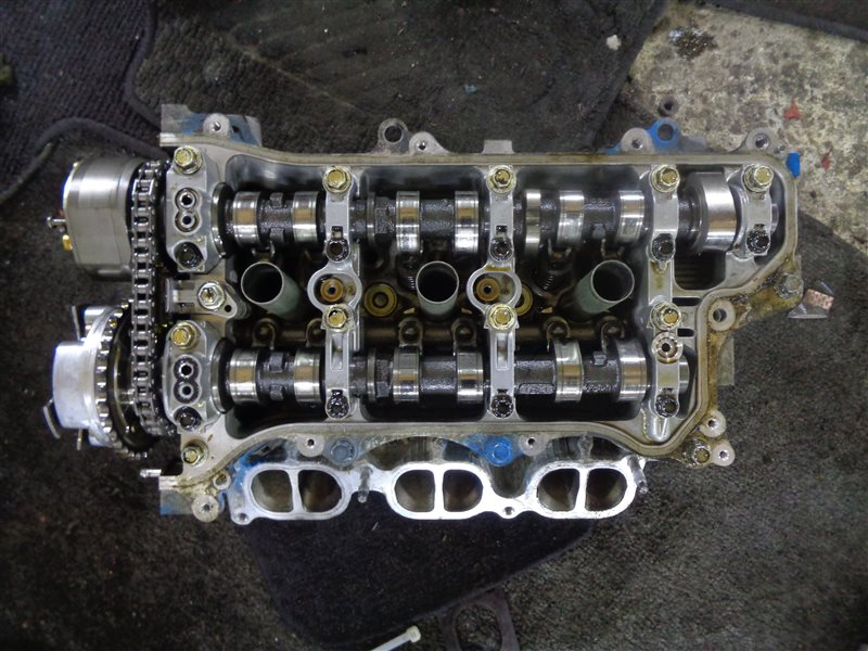 Головка блока цилиндров Toyota Crown GRS182 3GR правая (б/у)