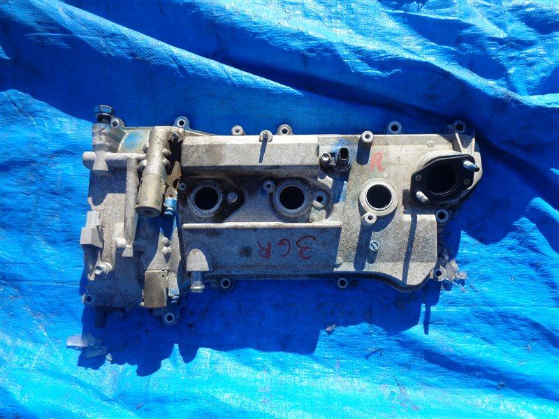 Клапанная крышка Toyota Crown GRS182 3GR правая (б/у)