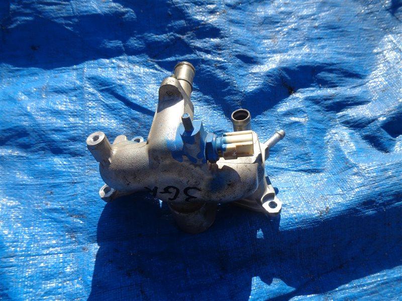 Фланец термостата Toyota Crown GRS182 3GR (б/у)