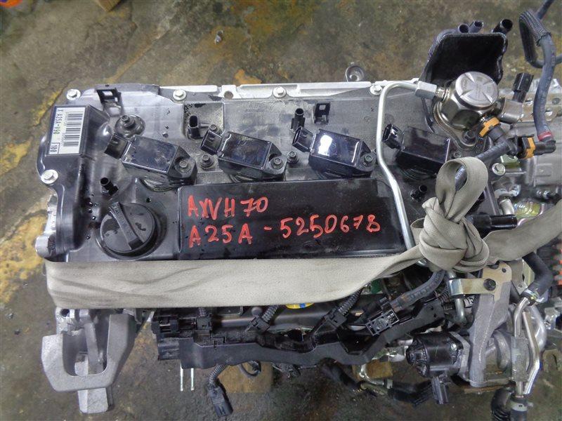 Двигатель Toyota Camry AXVH70 A25A-FXS 07.2019 (б/у)