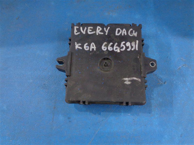 Блок efi Suzuki Every DA64V K6A (б/у)