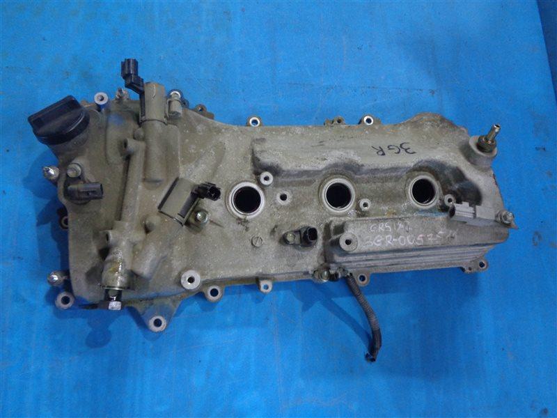 Клапанная крышка Toyota Crown GRS182 3GR левая (б/у)