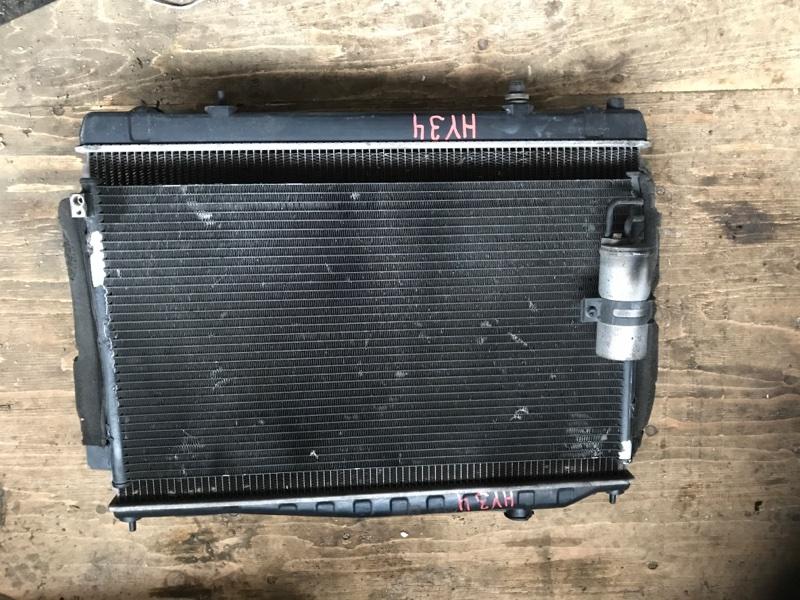 Радиатор основной Nissan Cedric HY34 VQ30 (б/у)