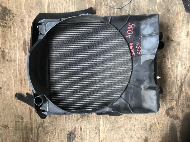 Радиатор основной Mitsubishi Canter FE511 4D35 (б/у)