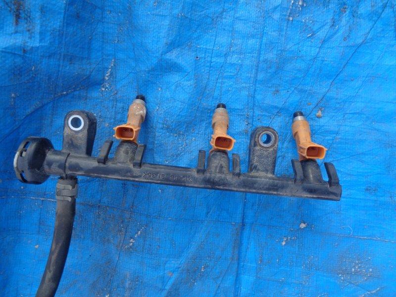 Топливная рейка Toyota Passo KGC10 1KR-FE (б/у)