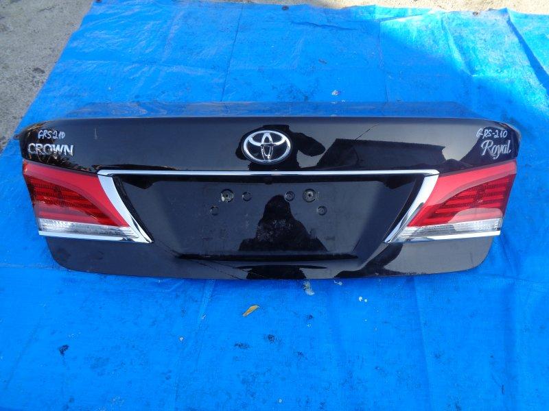 Крышка багажника Toyota Crown GRS210 4GR-FSE 2013 (б/у)