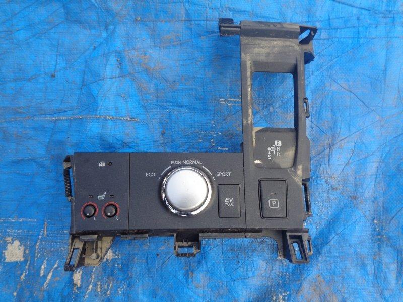Консоль кпп Lexus Ct200H ZWA10 2ZRFXE 07.2011 (б/у)