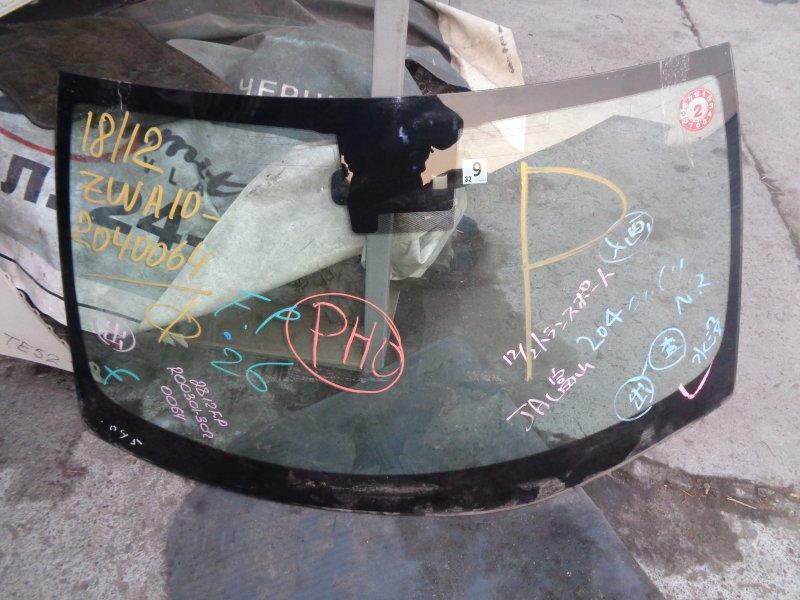 Лобовое стекло Lexus Ct200H ZWA10 2ZRFXE 07.2011 (б/у)