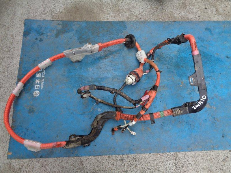 Проводка высоковольтной батареи Lexus Ct200H ZWA10 2ZRFXE 07.2011 (б/у)
