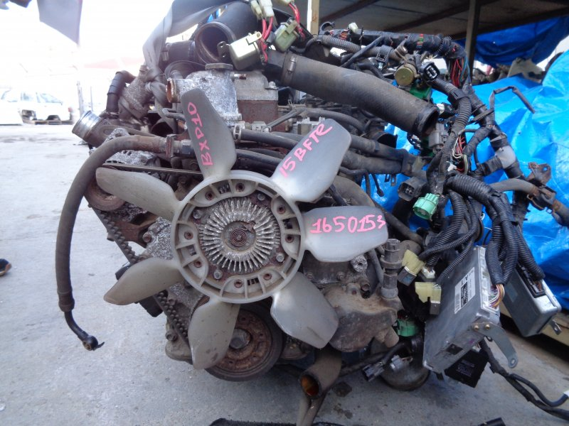 Двигатель Toyota Mega Cruiser BXD10 15BFTE 1650153 (б/у)