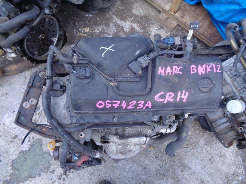 Двигатель Nissan March BNK12 CR14DE 057423A (б/у)