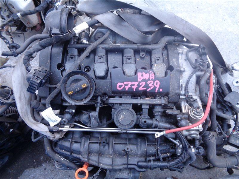 Двигатель Volkswagen Golf 1K1 BWA 077239 (б/у)