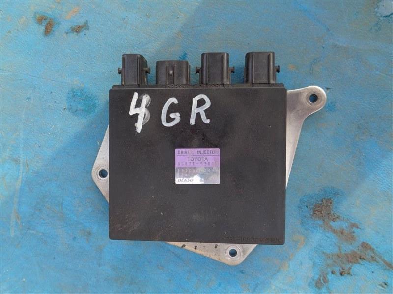 Блок управления форсунками Toyota Crown GRS210 4GR-FSE 2013 (б/у)