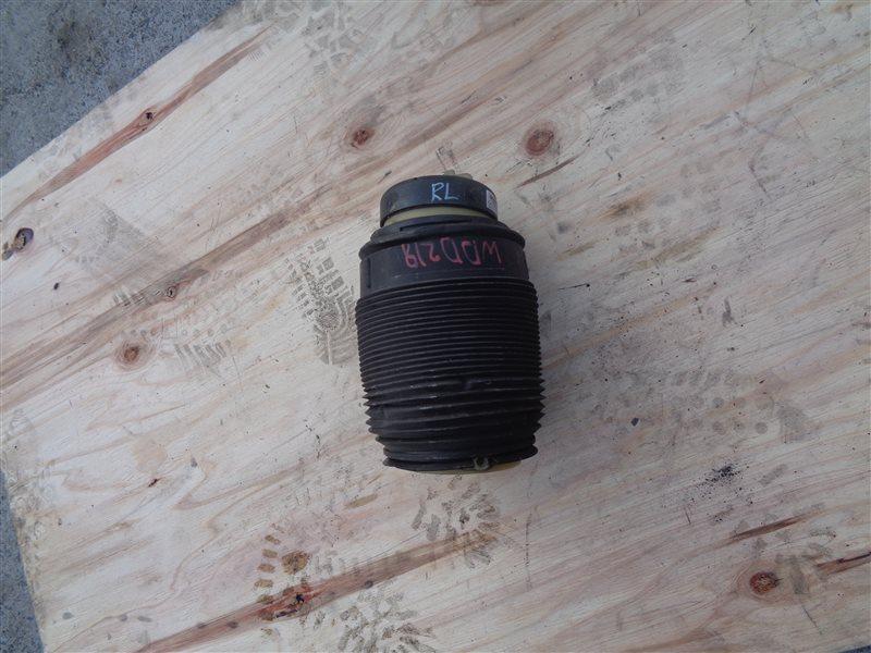 Подушка подвески пневматическая Mercedes Cls 350 C218 276.952 10.2011 задняя левая (б/у)
