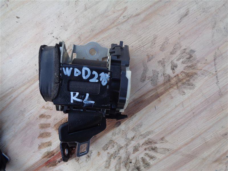 Ремень безопасности Mercedes Cls 350 C218 276.952 10.2011 задний левый (б/у)