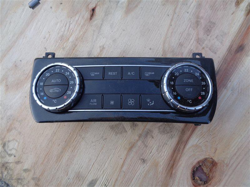 Климат-контроль Mercedes Cls 350 C218 276.952 10.2011 передний (б/у)