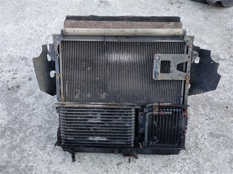 Радиатор основной Toyota Mega Cruiser BXD10 15B-FTE (б/у)