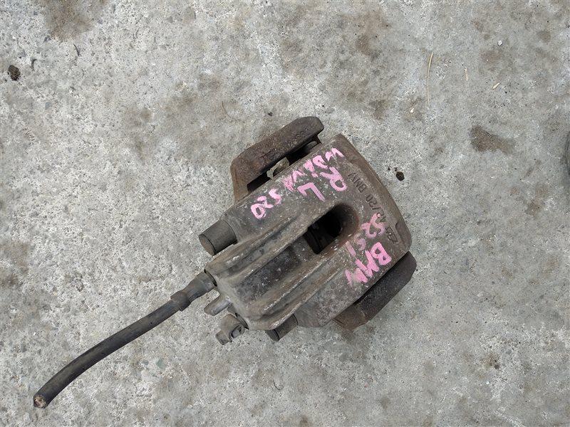 Суппорт Bmw 525I E60 M54B25(256S5) задний левый (б/у)