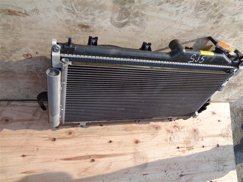 Радиатор основной Subaru Forester SJ5 FB20B-R603266 2012 (б/у)