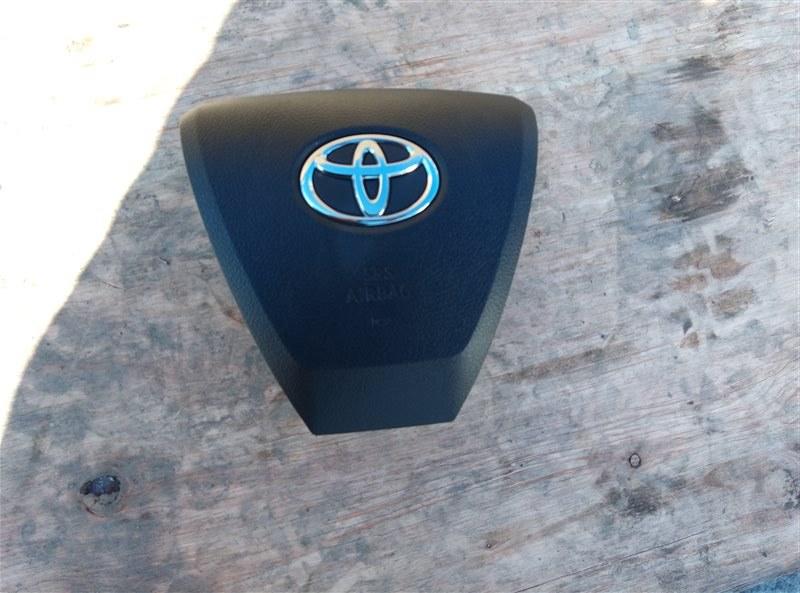 Airbag водительский Toyota Alphard AYH30 2AR-FXE 01.2017 (б/у)