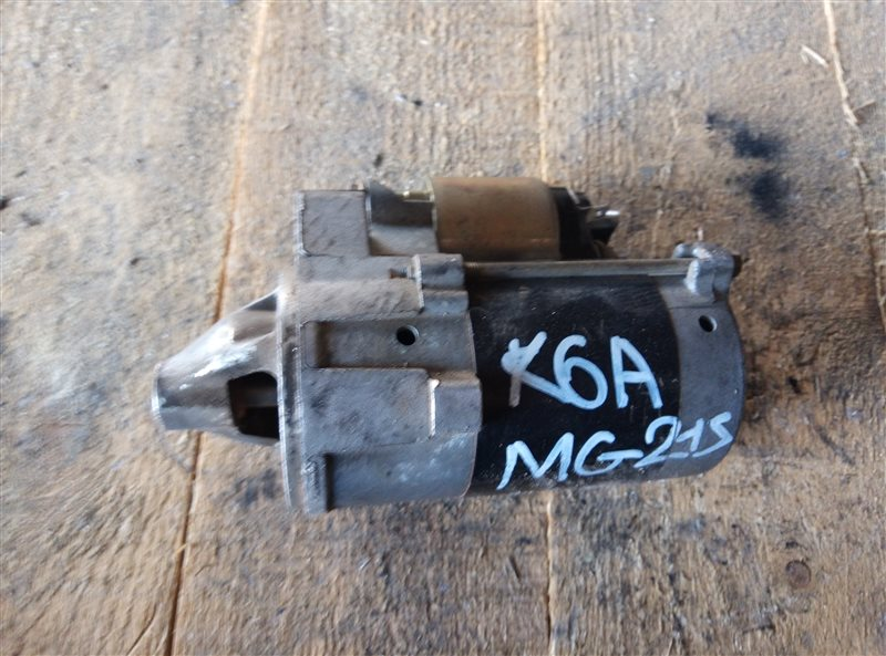 Стартер Nissan Moco MG21S K6A (б/у)
