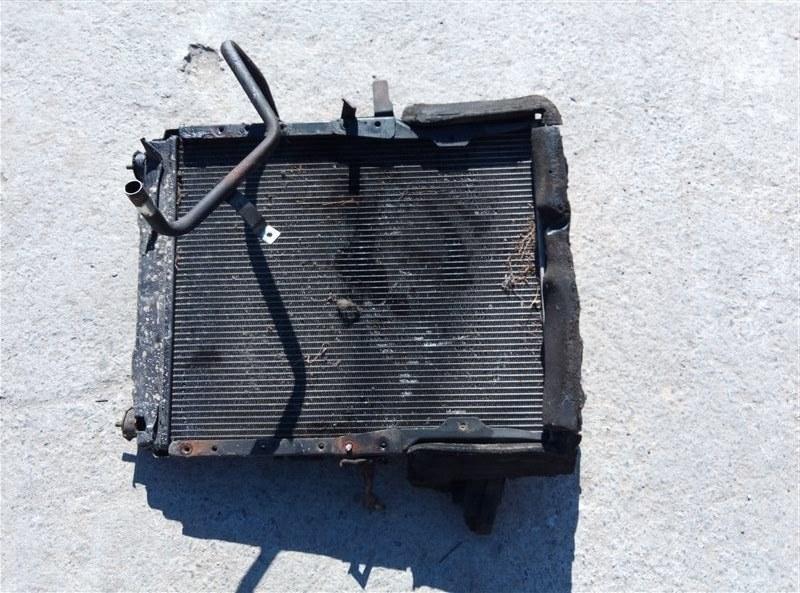 Радиатор основной Mitsubishi Canter FE73DN 4M50T (б/у)