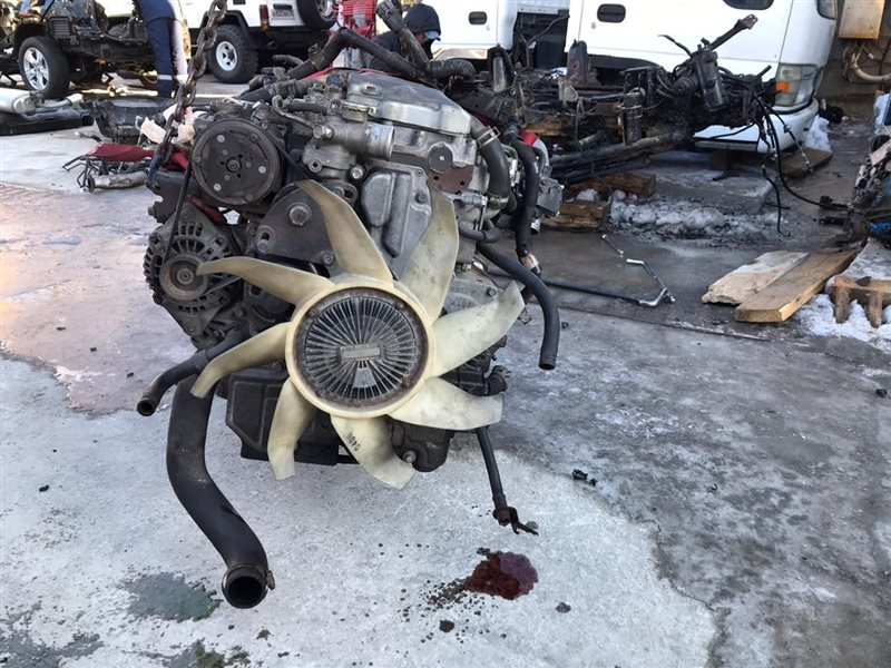 Двигатель Mitsubishi Canter FE73DN 4M50T (б/у)