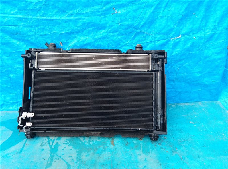 Радиатор основной Lexus Ct200H ZWA10 2ZRFXE 02.2013 (б/у)