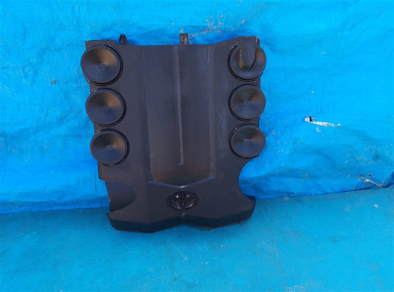 Декоративная крышка двс Toyota 4Runner GRN285 1GR-FE 08.2012 (б/у)