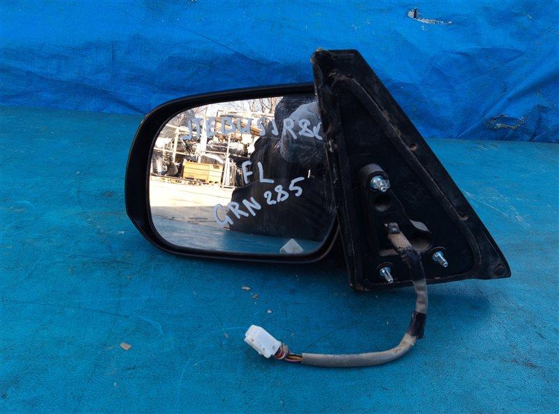 Зеркало Toyota 4Runner GRN285 1GR-FE 08.2012 переднее левое (б/у)