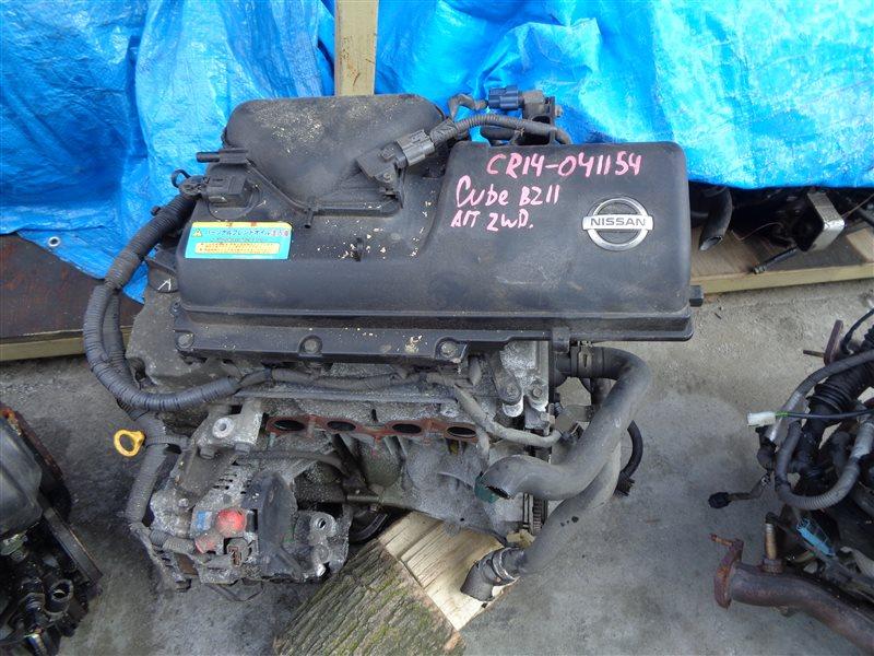 Двигатель Nissan Cube BZ11 CR14DE 041154 (б/у)