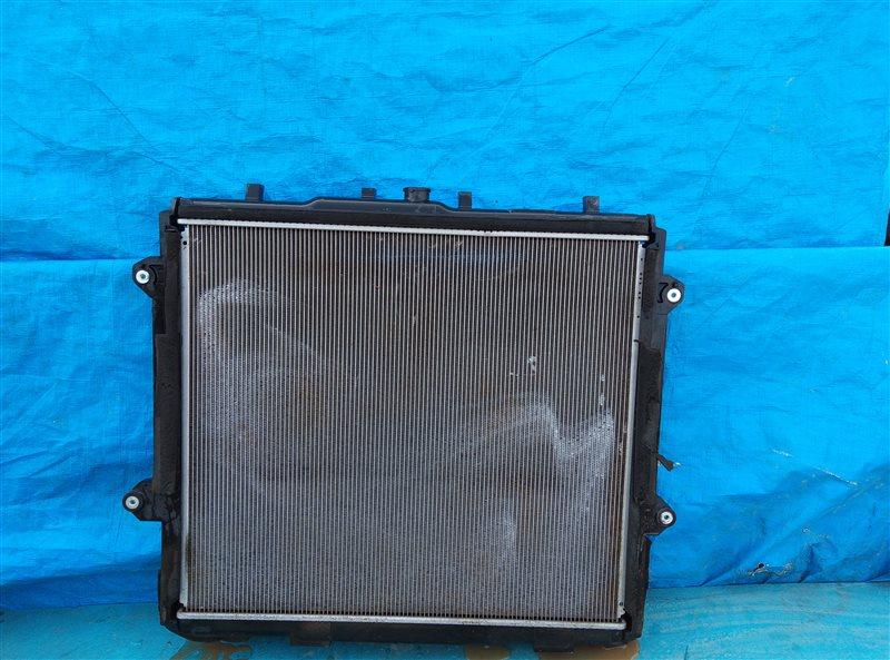 Радиатор основной Toyota 4Runner GRN285 1GR-FE 08.2012 (б/у)