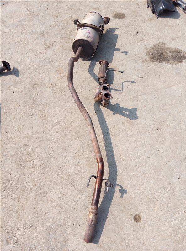 Глушитель Toyota Hiace RZH101 2RZE (б/у)