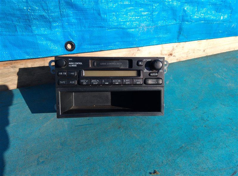 Магнитофон Toyota Hilux LN167 5L 5489206 06.2004 (б/у)
