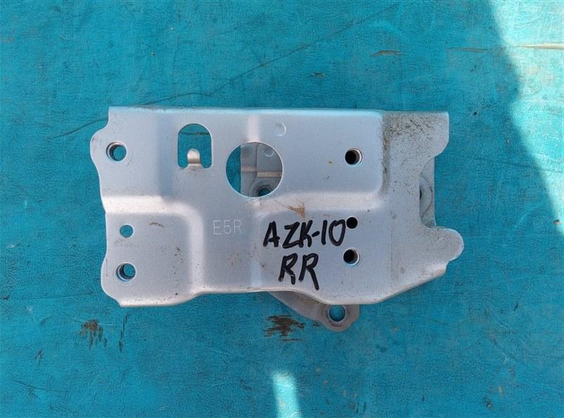 Крепление жесткости бампера Toyota Sai AZK10 2AZ-FXE 4A37558 03.2016 заднее правое (б/у)